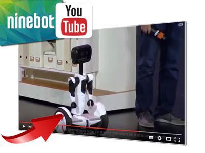 "Ninebot präsentiert ""Personal Robot"" auf Basis des Ninebot mini"