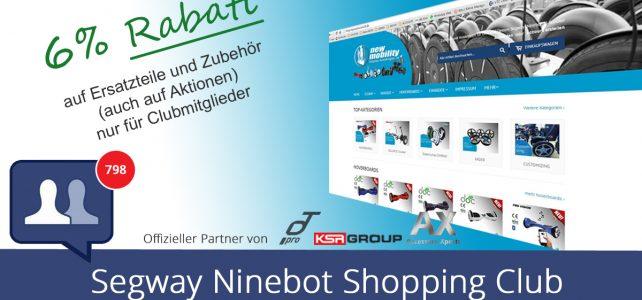 Segway Ninebot Shopping Club