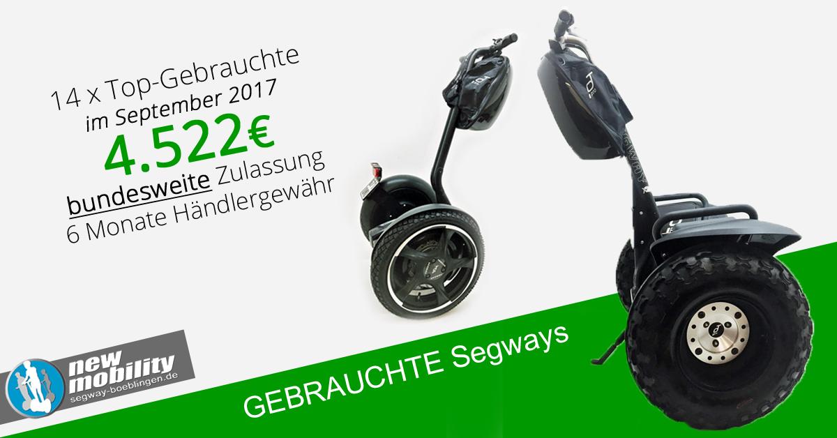 Gebrauchte Segways – 14 geprüfte Maschinen ab 4.522 EUR