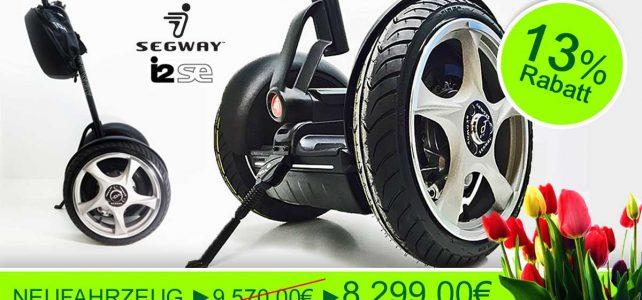 Segway kaufen – Segway i2SE im Frühling 2017