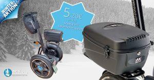 Segway i2Se mit Seitenkoffersystem - Neufahrzeug Winteraktion 2017
