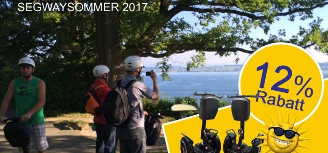 Segway kaufen – 12% auf Segway i2SE im Sommer 2017