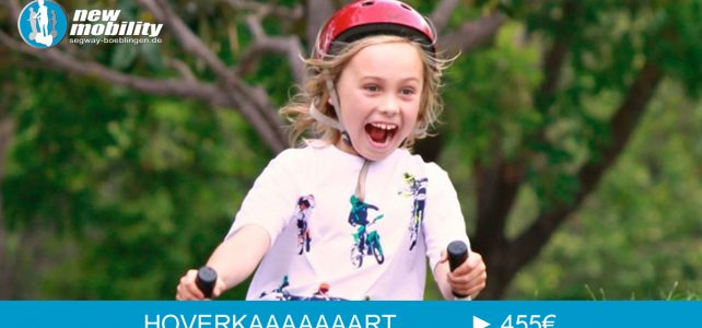 Hoverboard mit Sitz – das Hoverkart für Kids