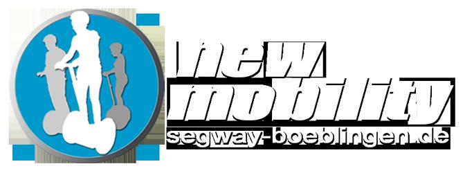 Firmenlogo - new mobility GmbH, segway-boeblingen.de