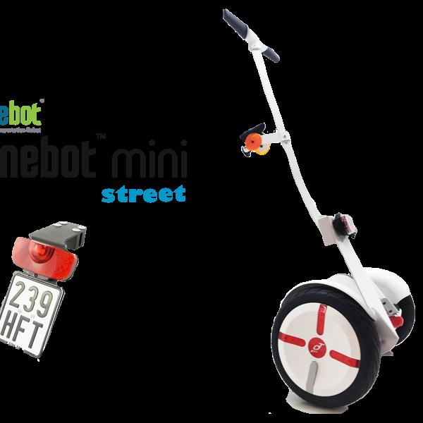 Mini Segway kaufen - der Ninebot mini Street fährt 18 km/h und ist hier zu kaufen
