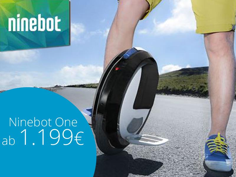 Elektrisches Einrad kaufen - Ninebot One in 3 Varianten bei segway-boeblingen.de