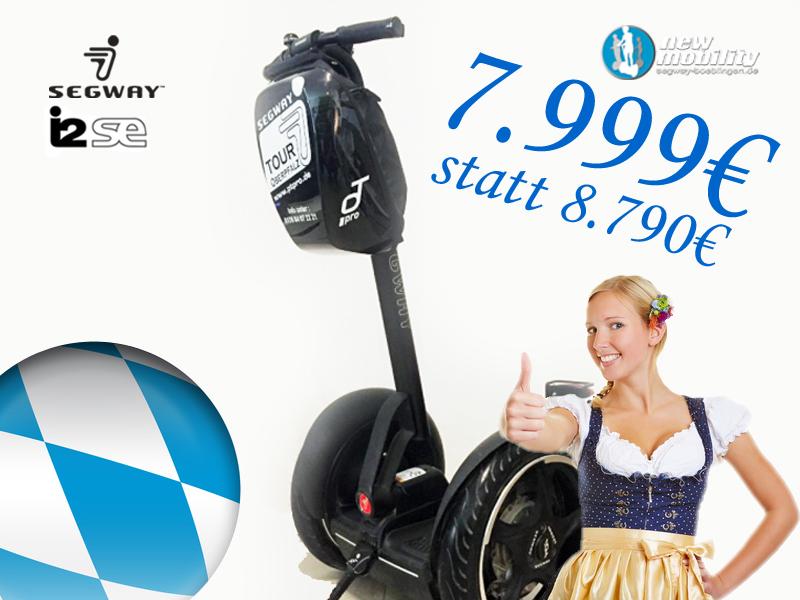 Segway günstig kaufen - bei Segway in Böblingen zum Oktoberfest 2017
