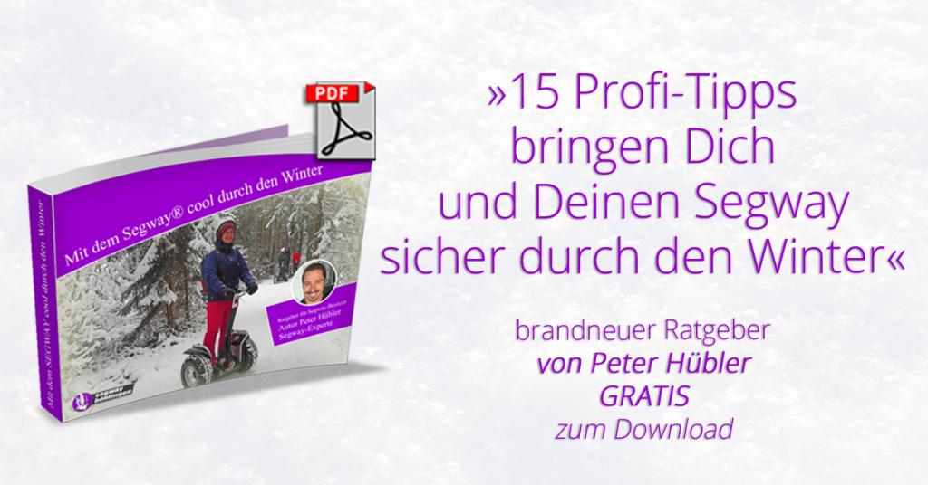 E-Book Mit dem Segway durch den Winter - hier herunterladen