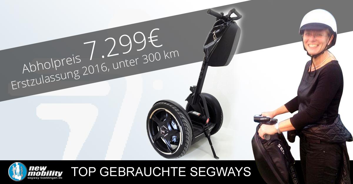 Segway gebraucht kaufen, Vorführmodell i2SE in schwarz - Angebot vom 01.11.2016