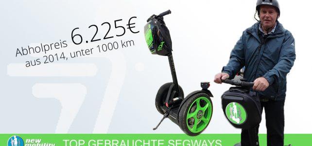 Gebrauchter Segway i2SE, Bj. 2014, grün #11-04