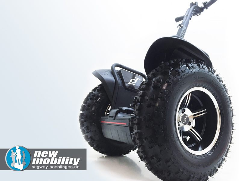 Segway kaufen - Modell i2SE als Umbau auf Offroad-Version, hier in schwarz