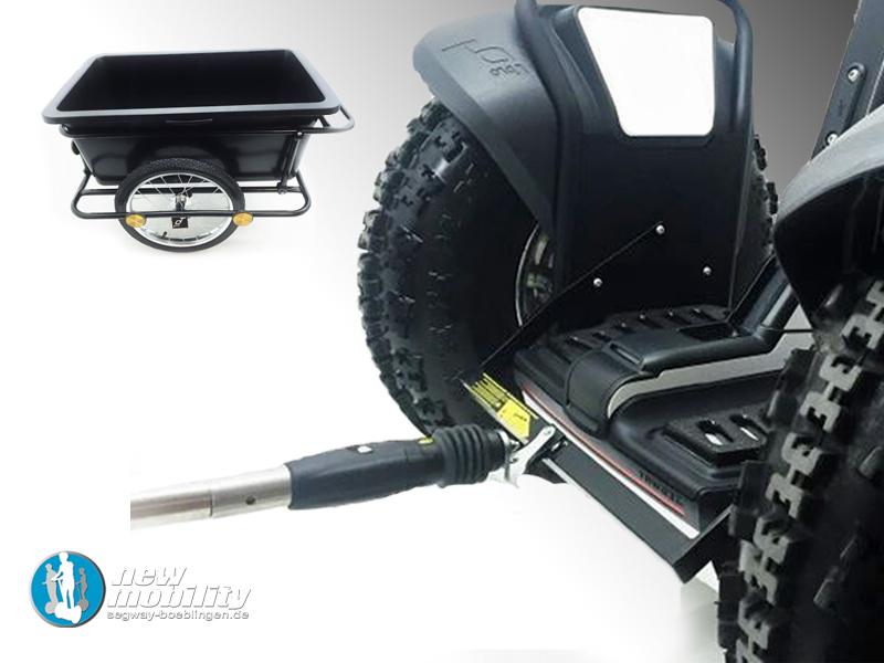 Segway i2SE Offroad-Umbau mit Anhänger - balanceroller.com