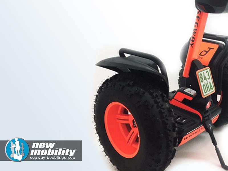 Segway kaufen - Segway i2 auf x2 Umbausatz Offroad Straßenversion in orange
