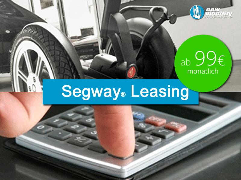 Segway-Leasing schon ab 99 EUR möglich. Hier anfragen