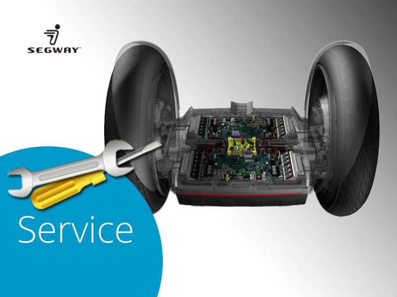 Segway Reparaturen und Service - bringen Sie Ihre Maschine zu uns
