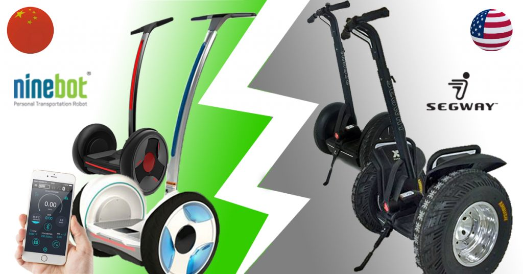 Segway versus Ninebot - Wie erklärt sich der Preisunterschied