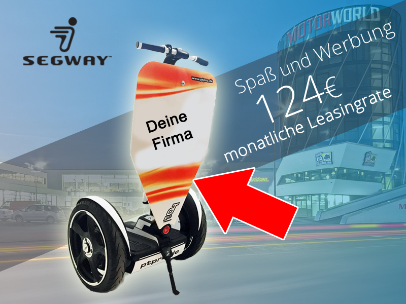 Segway Werbung – Sommeraktion 2016