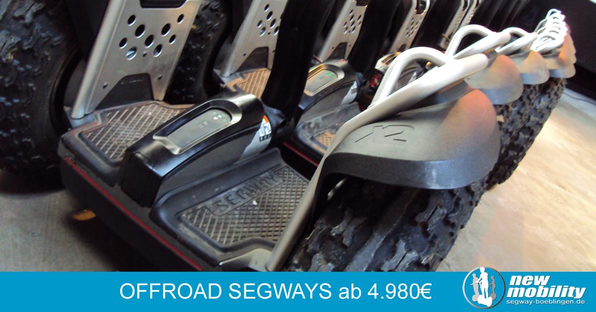 Segway kaufen - Geländemaschinen aus 2012 und 2013 im Verkauf